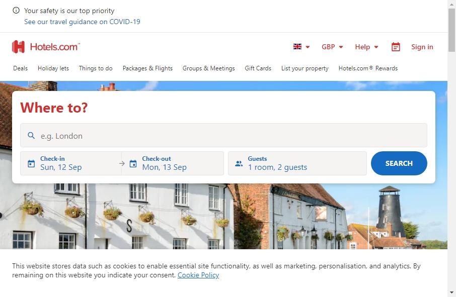 Hotels Websites Design 18