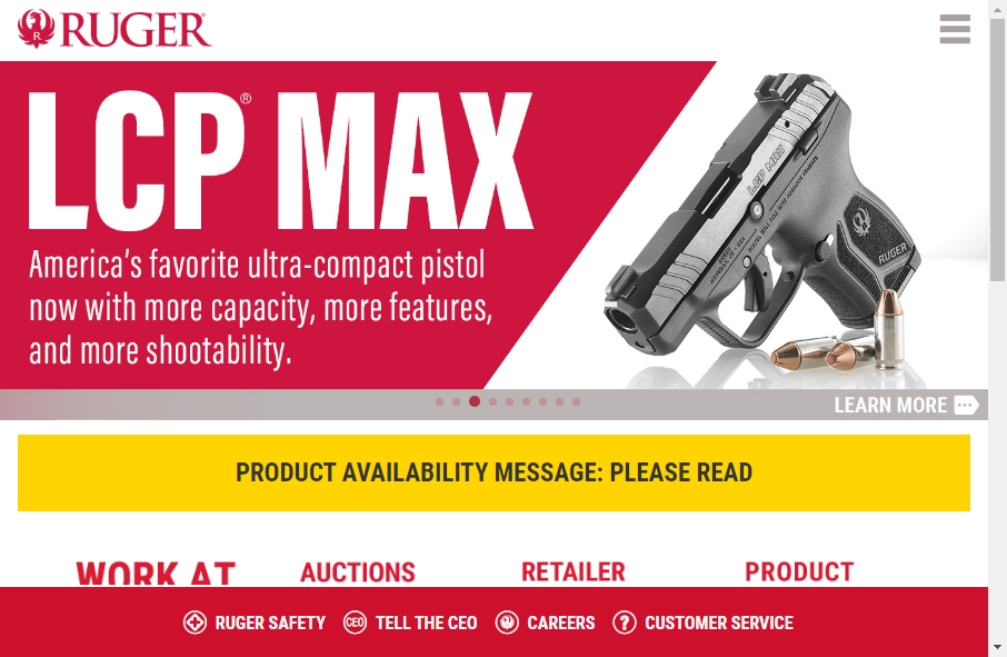 15 beautifully designed Gun website examples in 2021 19