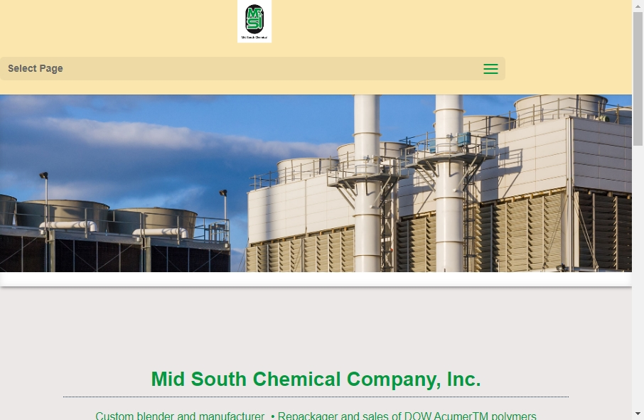 20 Examples of Chemical Websites With Fantastic Designs 33