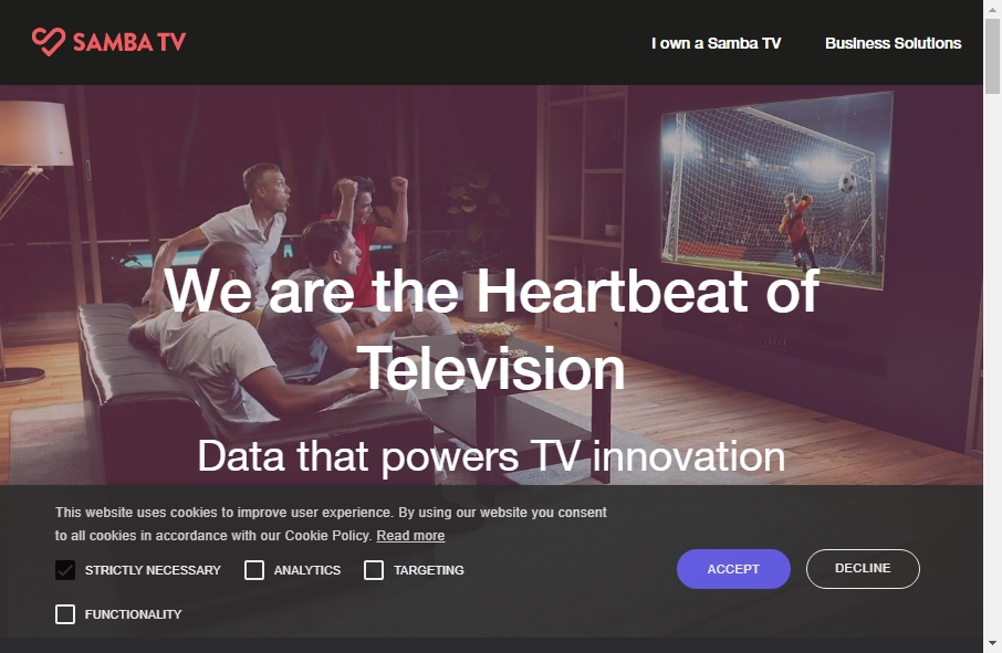 17 beautifully designed TV website examples in 2021 30