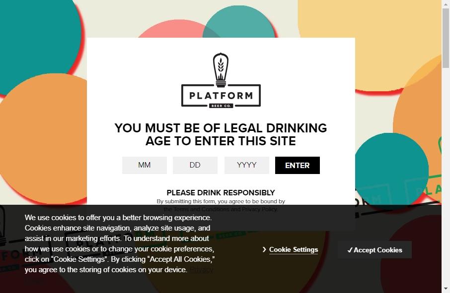 15 Beer Websites Examples to Inspire Your Site 29