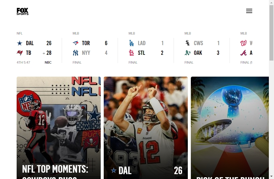 20 Amazing Sport Website Design Examples in 2021 35