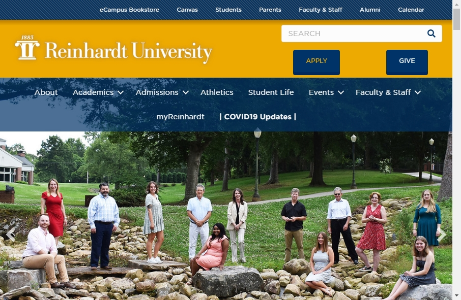 23 Examples of University Websites With Fantastic Designs 38