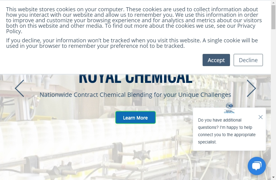 20 Examples of Chemical Websites With Fantastic Designs 34