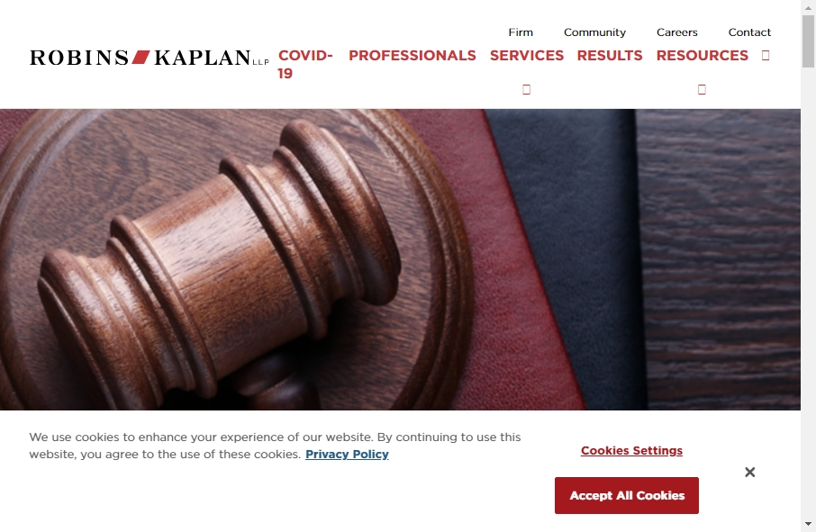25 beautifully designed Attorneys website examples in 2021 38