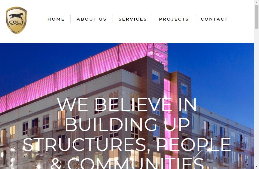 Builders Website Design 37