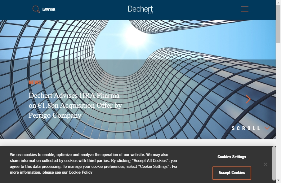 25 beautifully designed Attorneys website examples in 2021 40