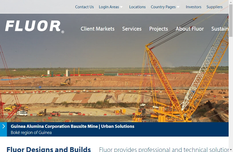 27 Examples of Construction Websites With Fantastic Designs 40