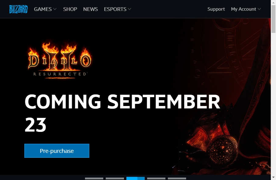 Gaming Websites Examples 19