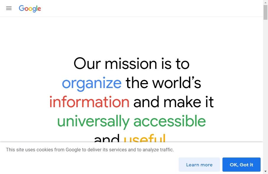 Information Websites Examples 20