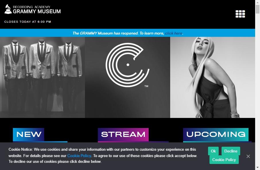 14 Amazing Museum Website Design Examples in 2021 19