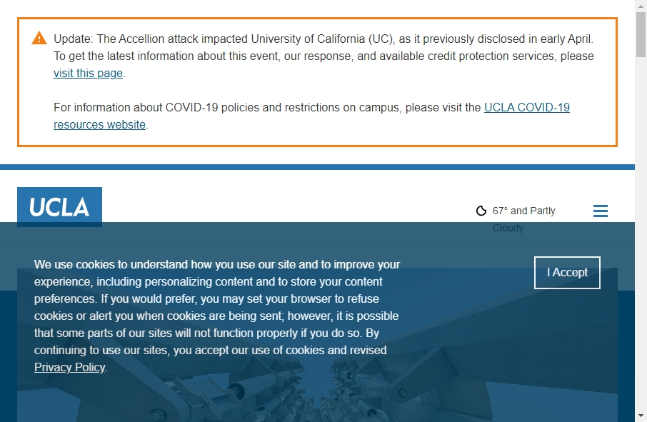 23 Examples of University Websites With Fantastic Designs 20