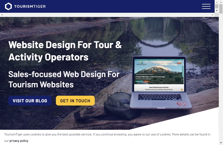 17 Examples of Tourism Websites With Fantastic Designs 20