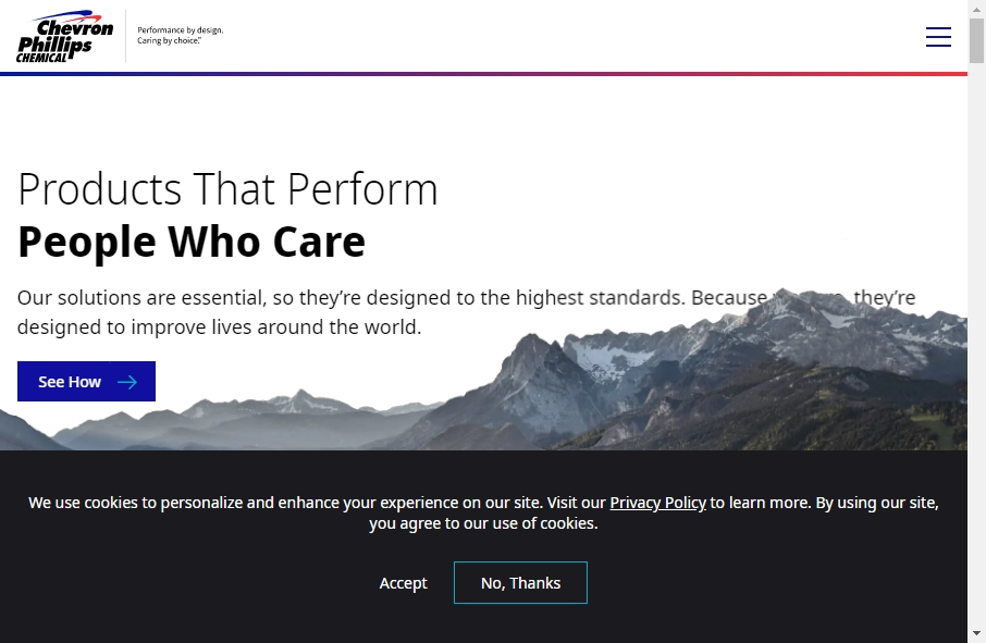 20 Examples of Chemical Websites With Fantastic Designs 19