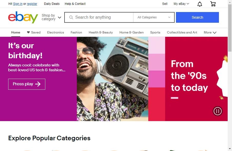 Online Retail Website Design 20