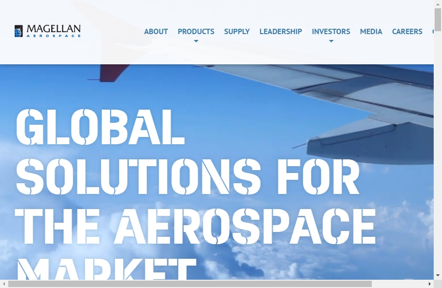 14 Examples of Aerospace Websites With Fantastic Designs 20