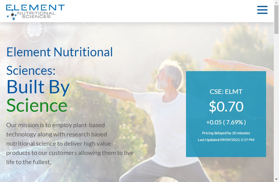 11 Great Nutritional Website Examples 19