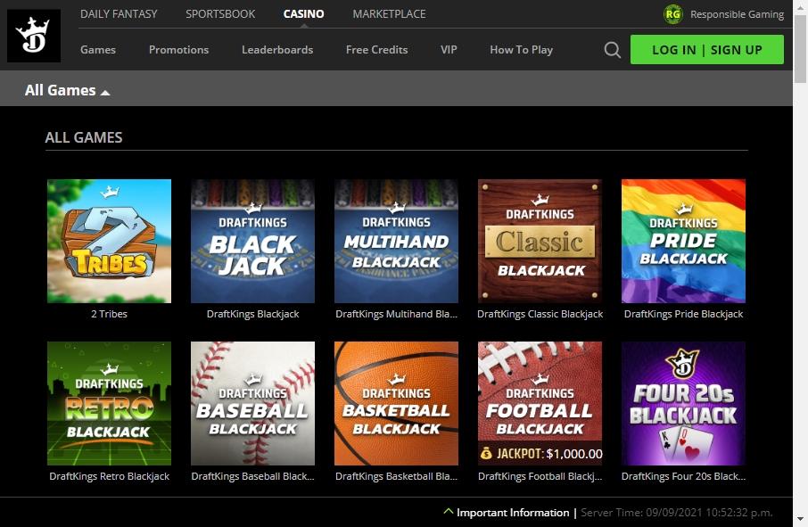 10 Examples of Inspirational Gambling Websites 19