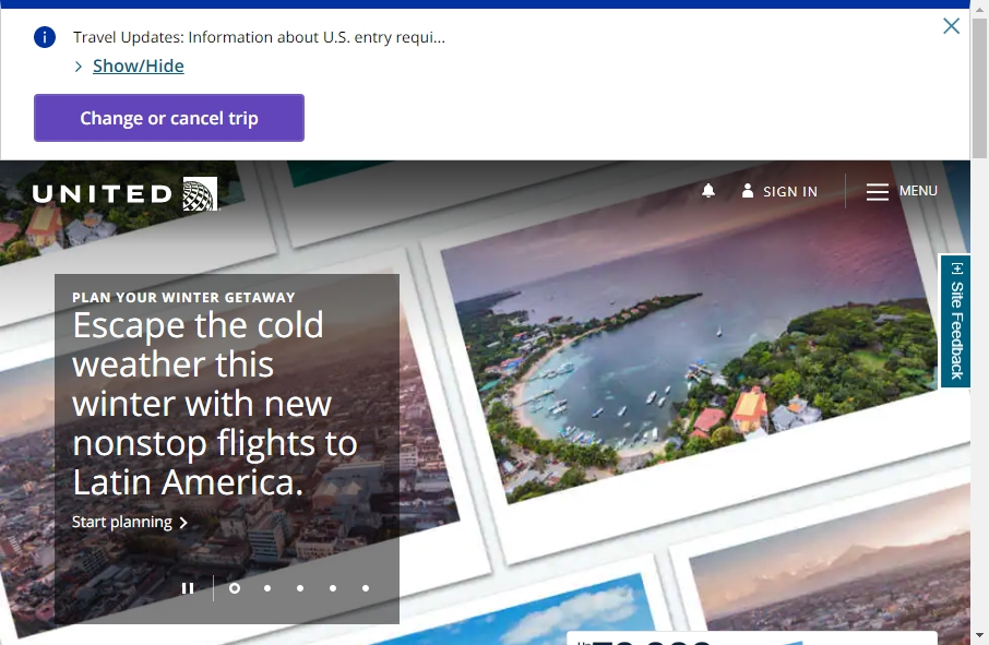 8 Examples of Inspirational Airlines Websites 20
