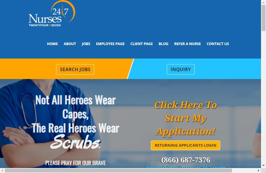 10 Amazing Nurses Website Design Examples in 2021 19