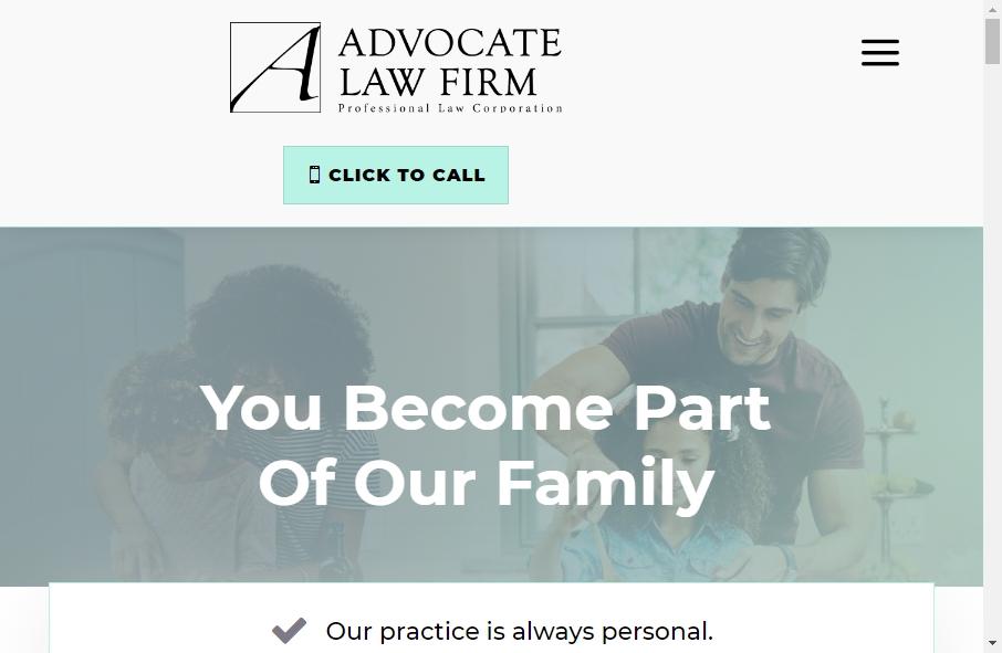 Advocate Websites Examples 18