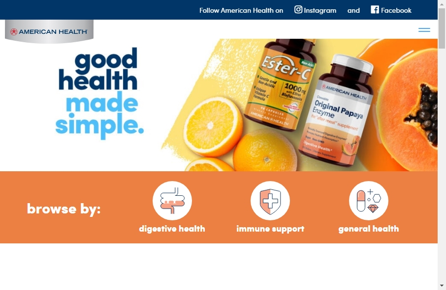 Health Product Websites Examples 20