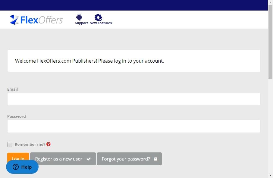 Affiliate network Website Designs 20