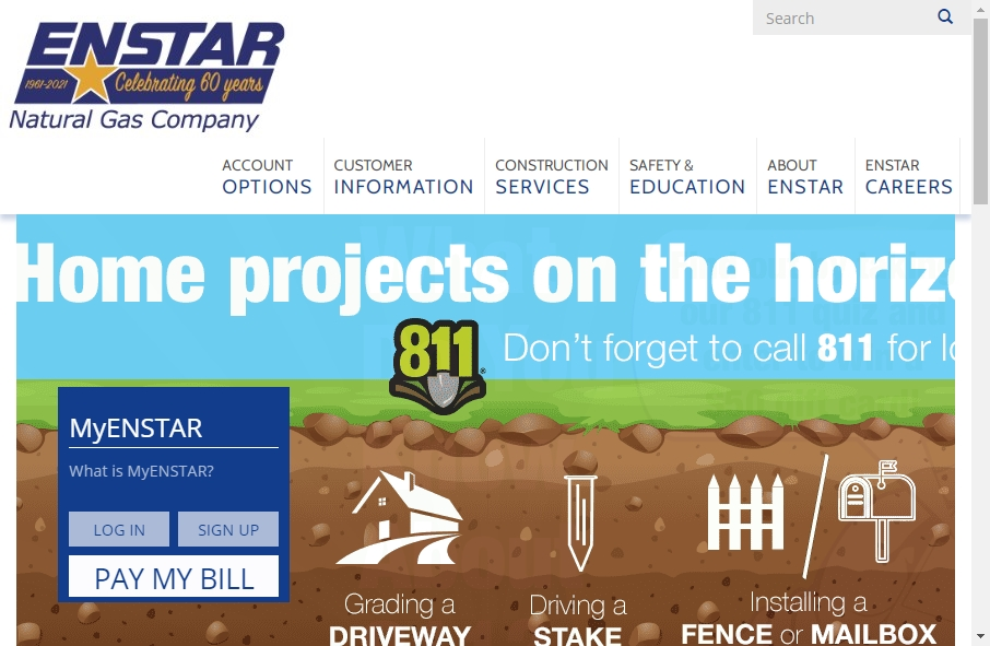 Examples of Natural Gas Websites With Fantastic Designs 19