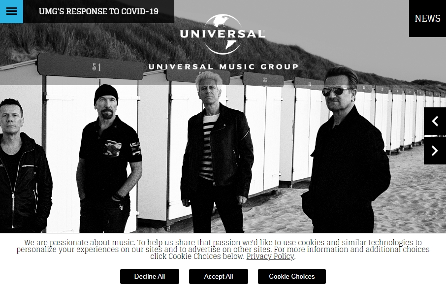 16 Great Music Website Examples 19