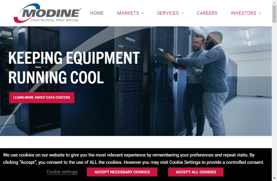 20 beautifully designed Manufacturing websites examples in 2021 20