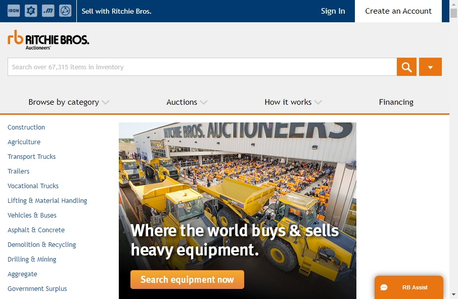 14 Great Auction Websites Examples 19