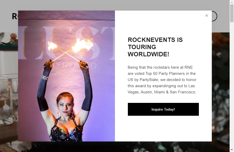 14 Event Website Examples to Inspire Your Site 19