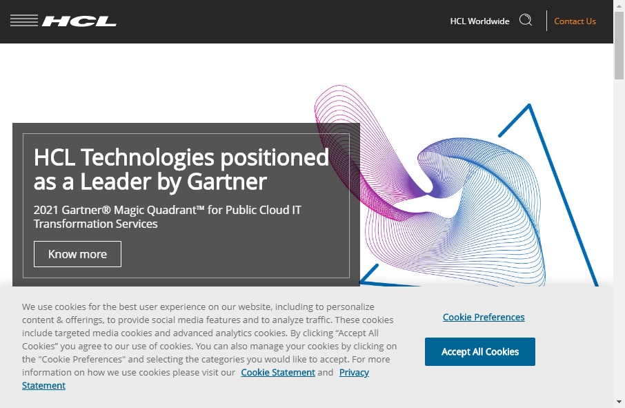 18 Great Technology Website Examples 20