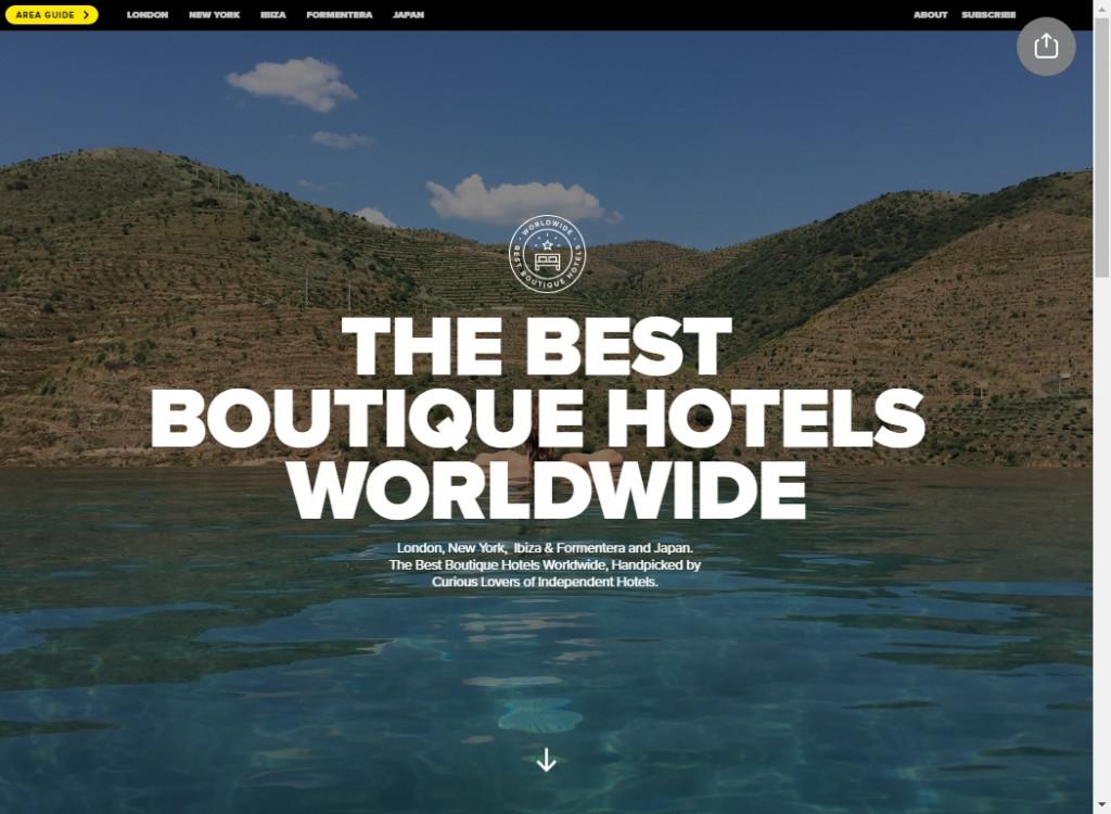 The Best Typography Websites 20