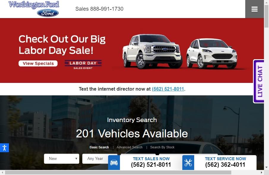 12 Examples of Car Dealer Websites With Fantastic Designs 19