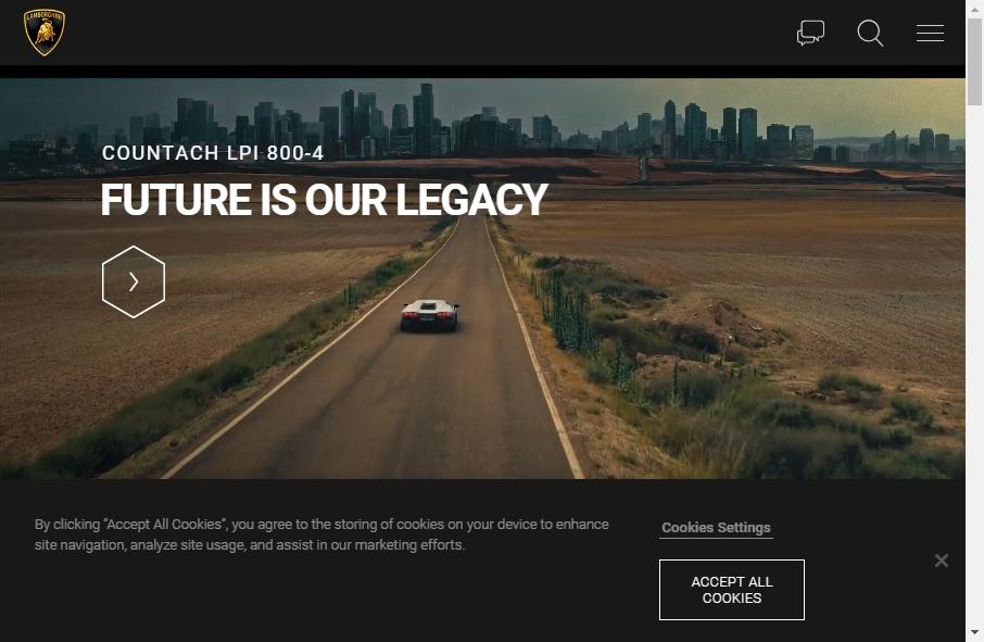 15 Great Automotive Website Examples 19