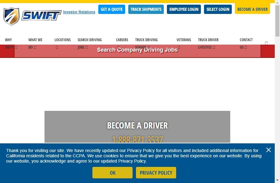 14 Amazing Trucking Website Design Examples in 2021 20