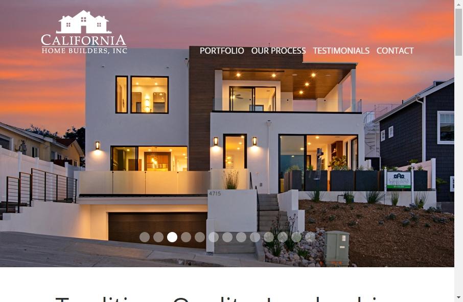 Home Builder Websites Examples 21