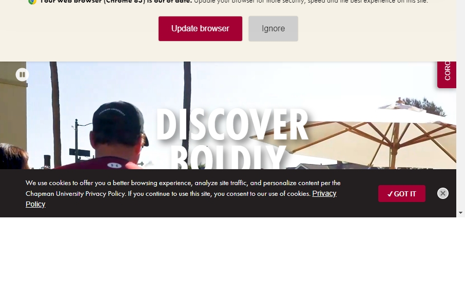 23 Examples of University Websites With Fantastic Designs 21