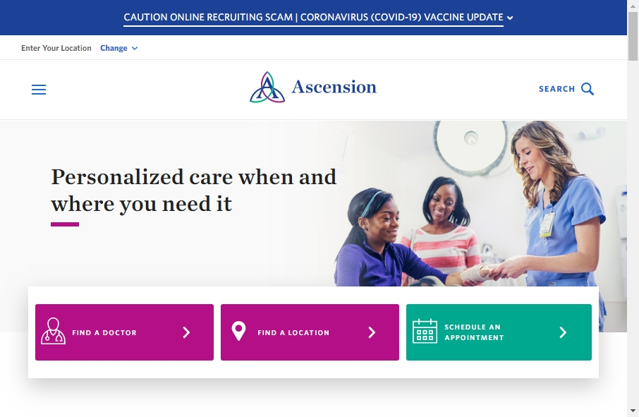11 Examples of Hospital Websites With Fantastic Designs 20