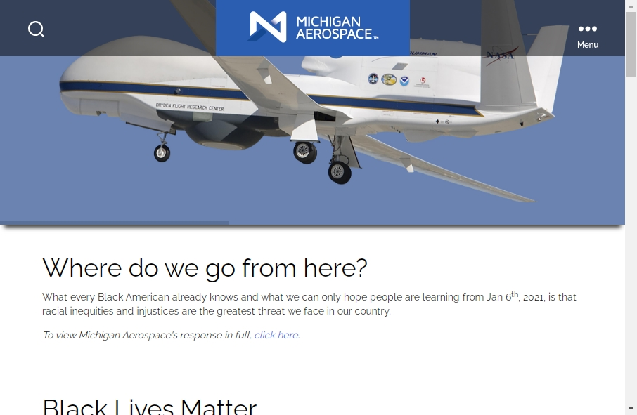 14 Examples of Aerospace Websites With Fantastic Designs 21