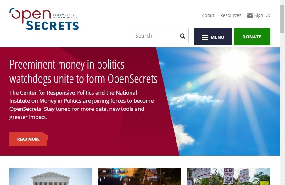 10 Examples of Politics Websites With Fantastic Designs 20