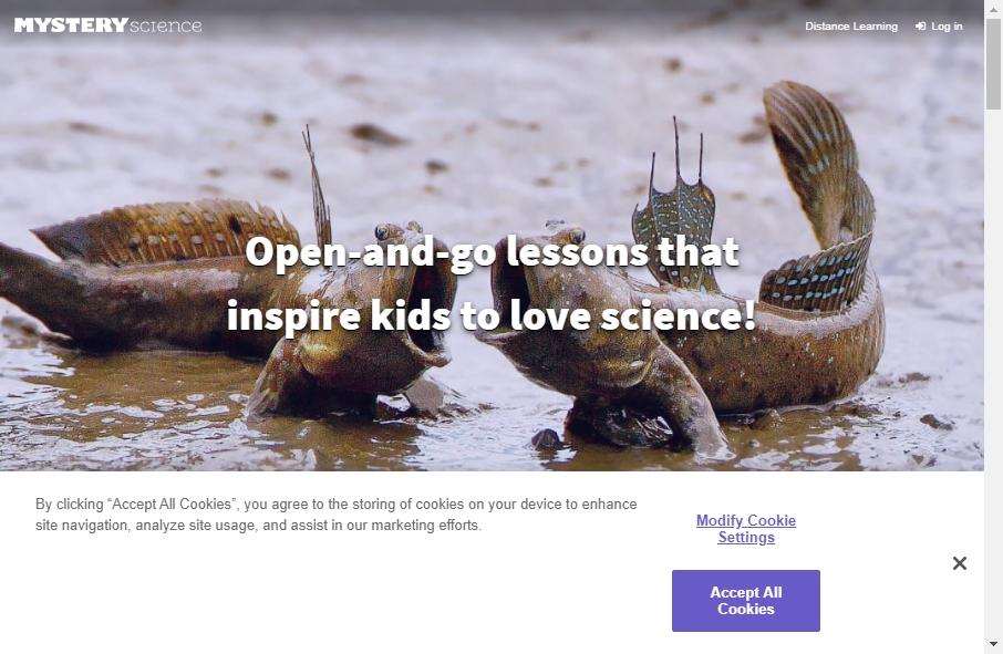 10 Amazing Science Website Design Examples in 2021 20
