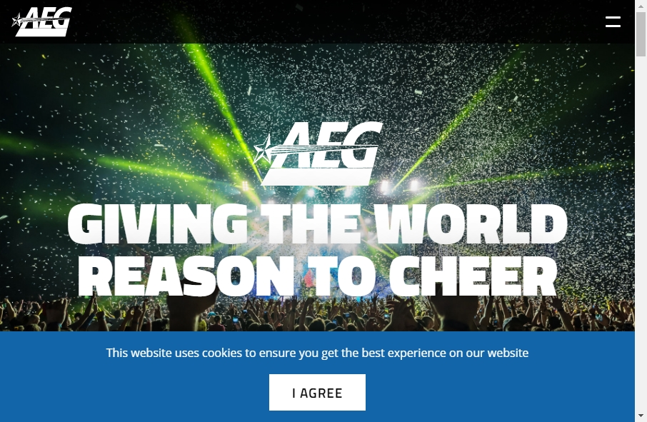 14 Entertainment Website Examples to Inspire Your Site 20