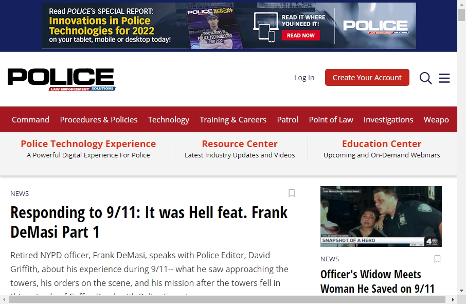 13 Examples of Inspirational Police Websites 20