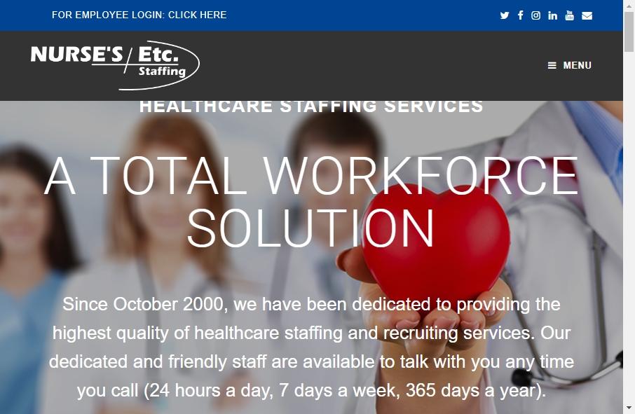 10 Amazing Nurses Website Design Examples in 2021 20