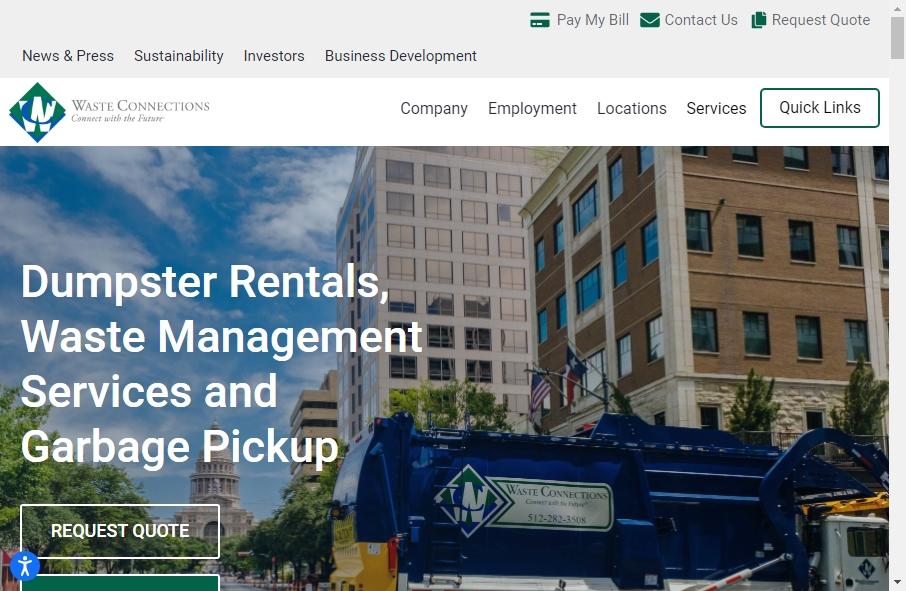 16 Examples of Inspirational Waste Management Websites 21