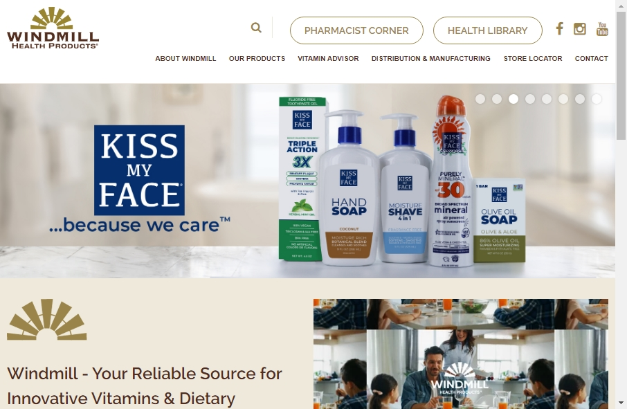 Health Product Websites Examples 21