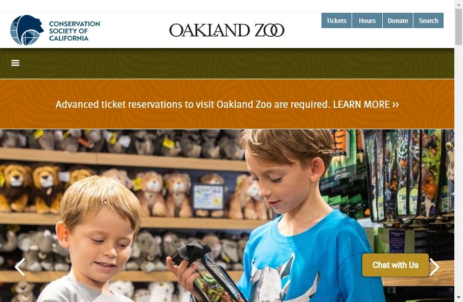 Zoo Websites Design 21