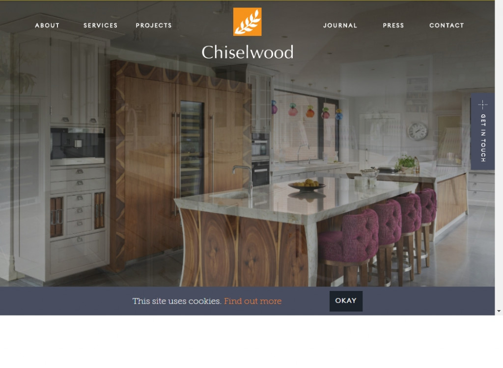 Clean Website Designs 17